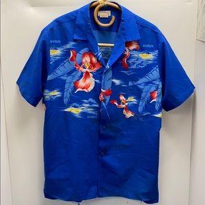 Hawaiian shirt tiki